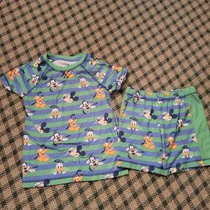 5/$10 PJ Set 9/10 Boys Mickey Mouse  Disney